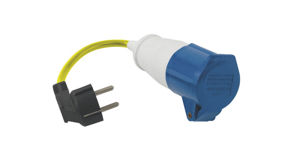 Outwell Conversion Lead Plug geel/blauw